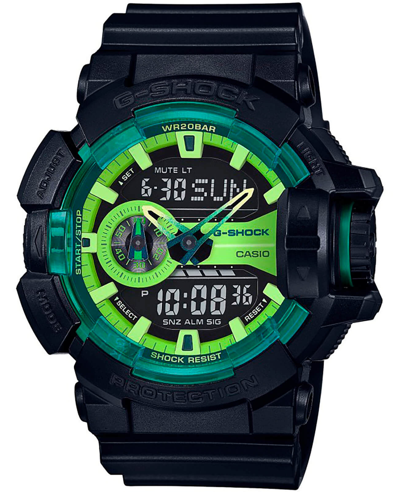 Часы Casio G-Shock GA-400LY-1AER